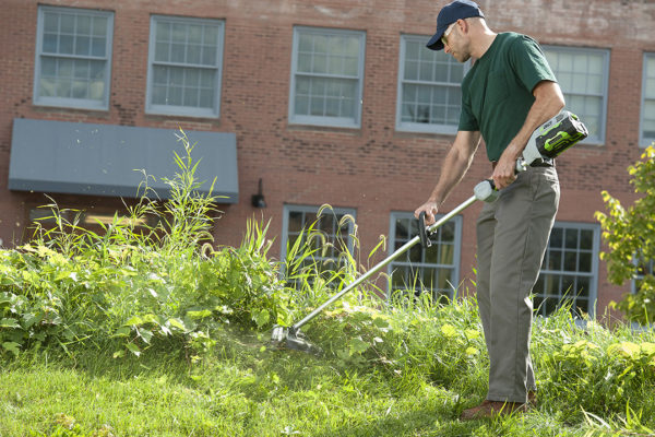 EGO_ST1502_String Trimmer_In Use