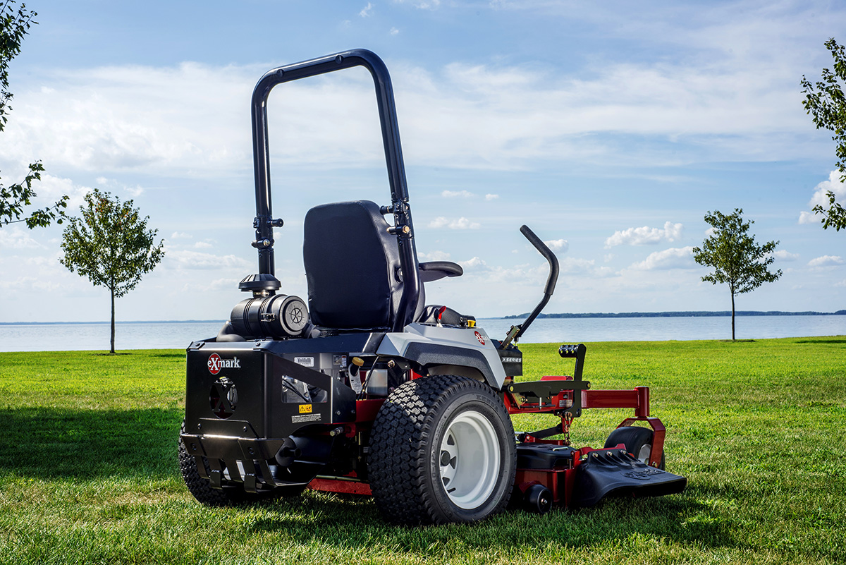 The Exmark Lawn Mower